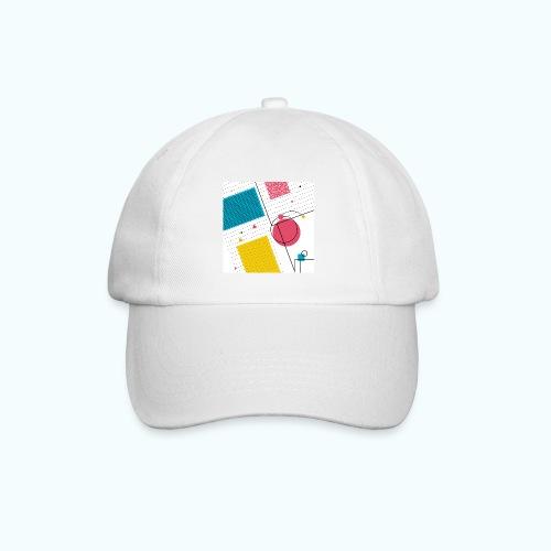 Colors shapes abstract - Baseball Cap