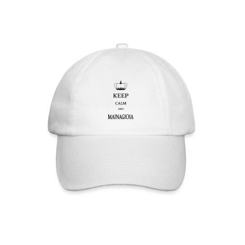 keep calm mainagioia-01 - Cappello con visiera