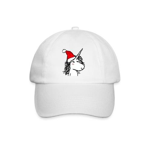 unicorno Natale - Cappello con visiera