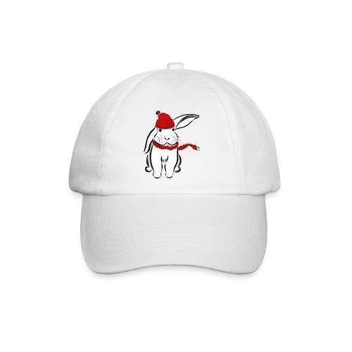 Kaninchen Hase Mütze Schal Schlappohr Schneehase - Baseballkappe