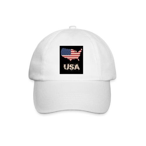 USA FLAG 4th of July With Flag - Basebollkeps