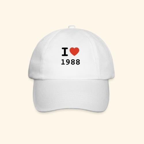 I Love 88 b 001 - Baseballkappe