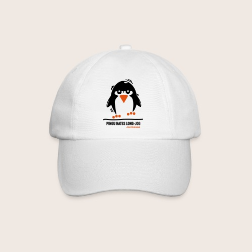 Pingu hates long jog 1 - Baseballkappe