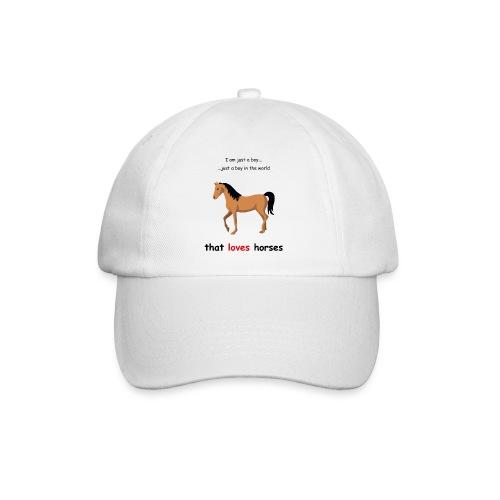 Horse lover - Baseballkappe