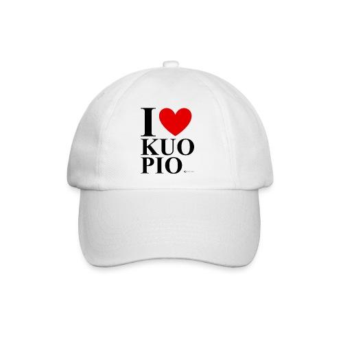 I LOVE KUOPIO ORIGINAL (musta) - Lippalakki