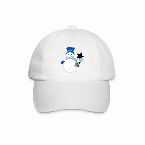 Snowtime-Blue - Baseballkappe