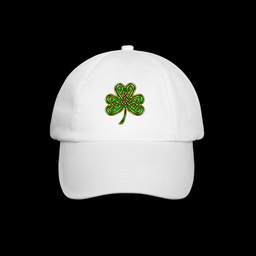 Celtic Knotwork Shamrock - Baseball Cap