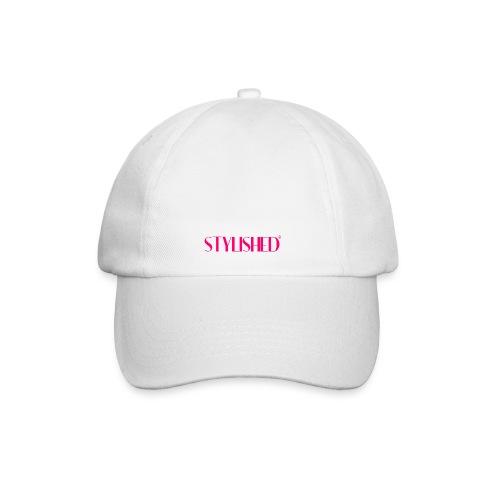 stylished logo pink large - Baseballkappe