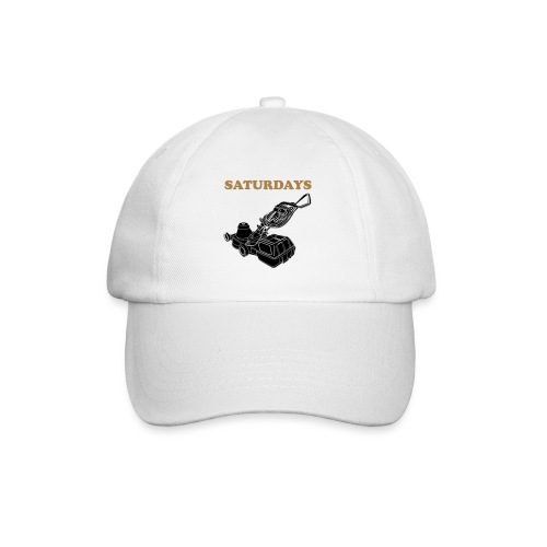 Saturdays Lawnmower - Baseball Cap