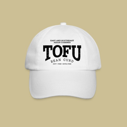 Tofu (black oldstyle) - Baseballkappe