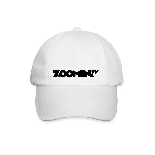 4658 2CZoomin BW logo - Baseball Cap