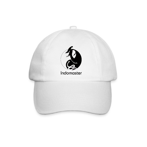 indomaster logo black - Baseball Cap