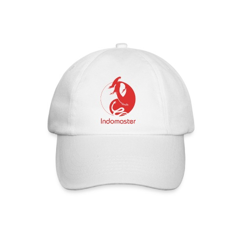 indomaster logo red - Baseball Cap