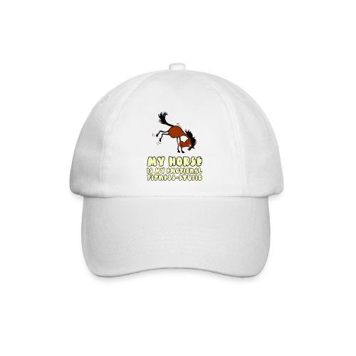 my horse is my emotional Fitness Studio - Baseballkappe