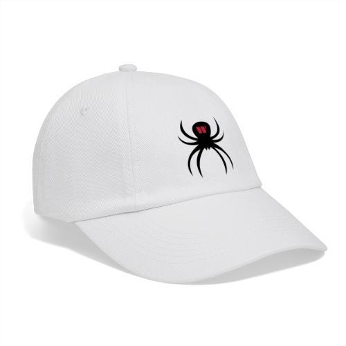 Spider black / red - Baseballkappe