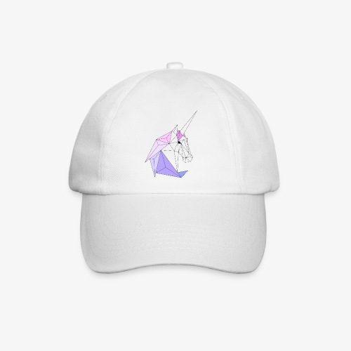 Einhorn geometrie unicorn - Baseballkappe