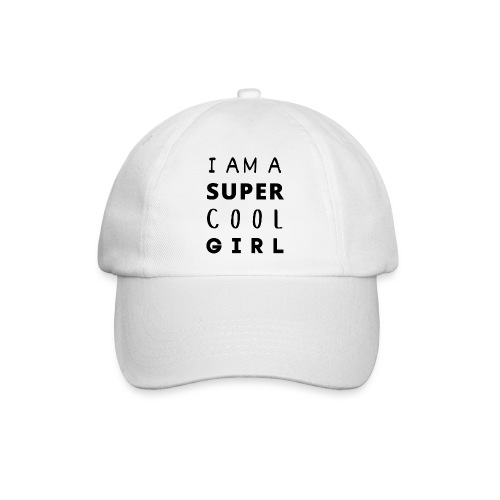 I AM A SUPER COOL GIRL - Baseballkappe