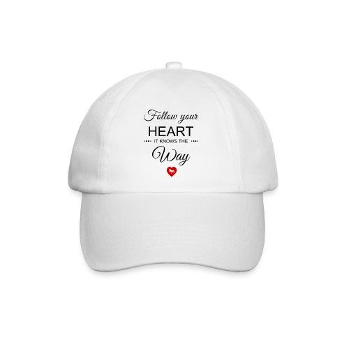 follow your heartbesser - Baseballkappe