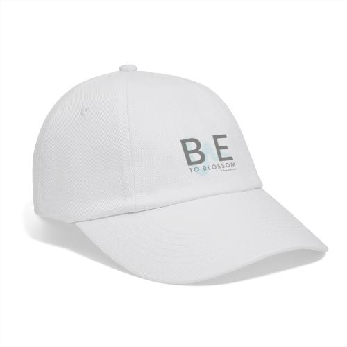 Be to blossom with swoosh (gray) -Power to Blossom - Baseball Cap