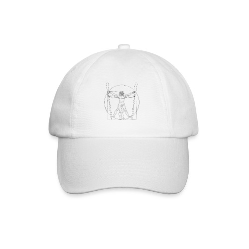 Vitruvian Skiffie black - Baseball Cap