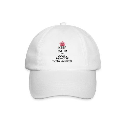 Coca e Mignotte Keep Calm - Cappello con visiera