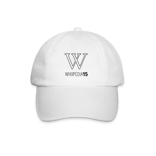W, rak, vit - Basebollkeps