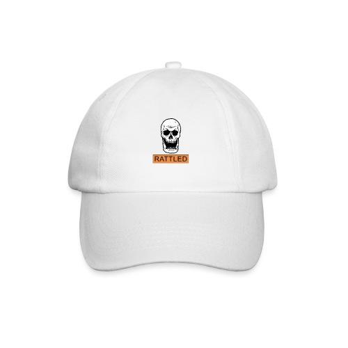 Rattled Spooky Halloween Skeleton Meme - Baseball Cap