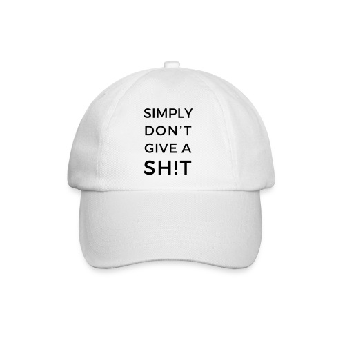 SIMPLY DON'T GIVE A SH!T - Cappello con visiera