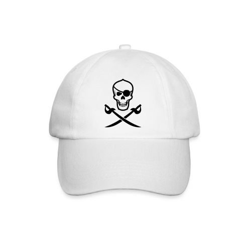 Totenkopf Pirat - Baseballkappe