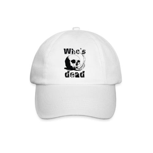 Who's dead - Black - Cappello con visiera