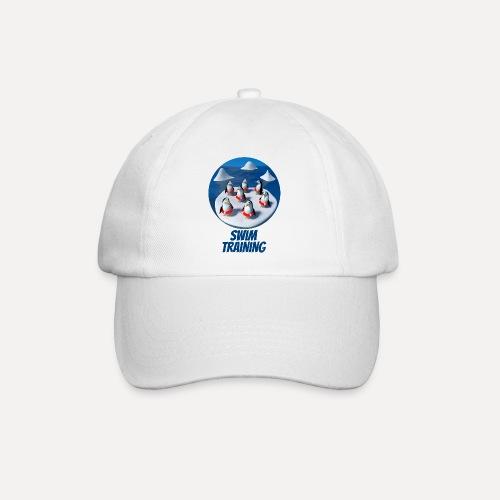 Pinguine beim Schwimmunterricht - Baseball Cap