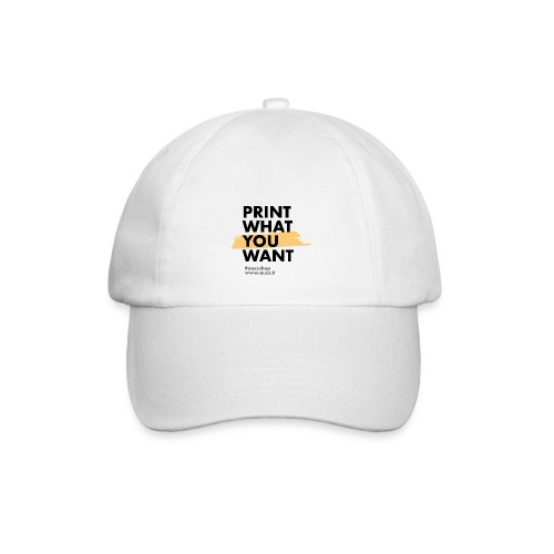 Print what you want - Cappello con visiera