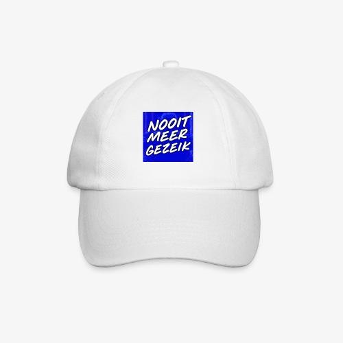 De 'Nooit Meer Gezeik' Merchandise - Baseballcap