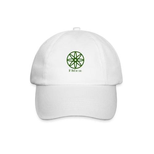 La boule d'atôme en vert - Baseballkappe