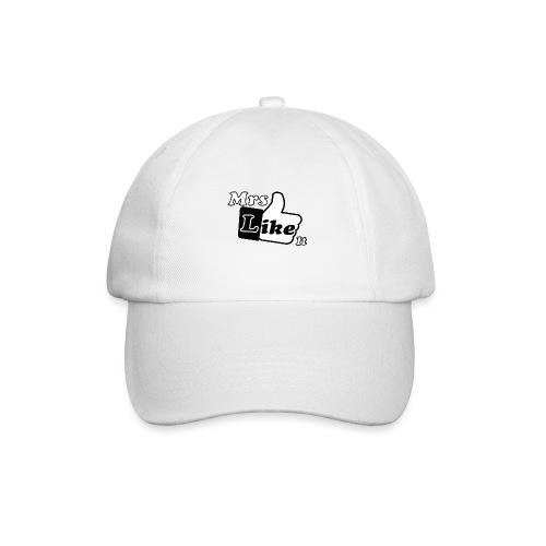 Mrs Like it - shirt (zwart-wit) - Baseballcap