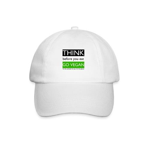 go vegan - Cappello con visiera