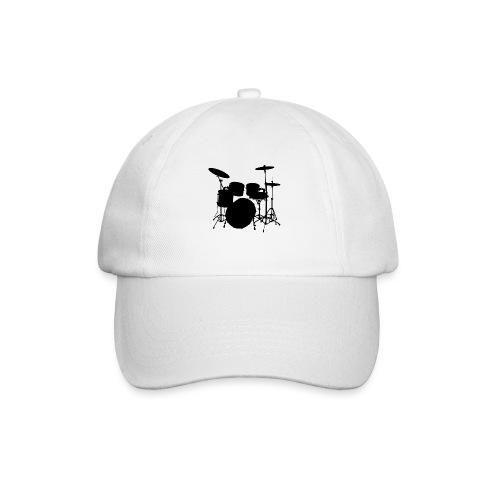 Bateria negro drums - Gorra béisbol