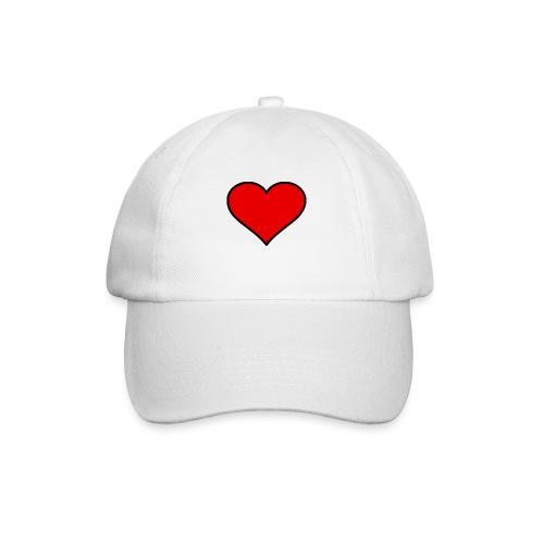 big heart clipart 3 - Basebollkeps