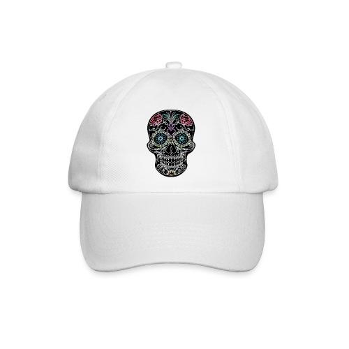 Floral Skull - Baseball Cap