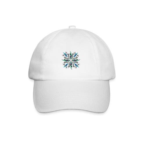 motivo astratto multicolore - Cappello con visiera