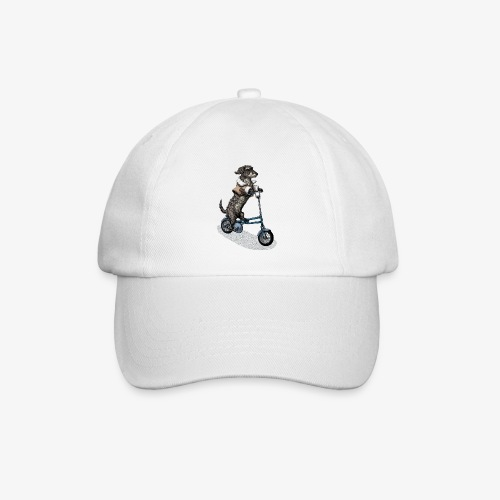 Dog Cyclist - Baseball Cap