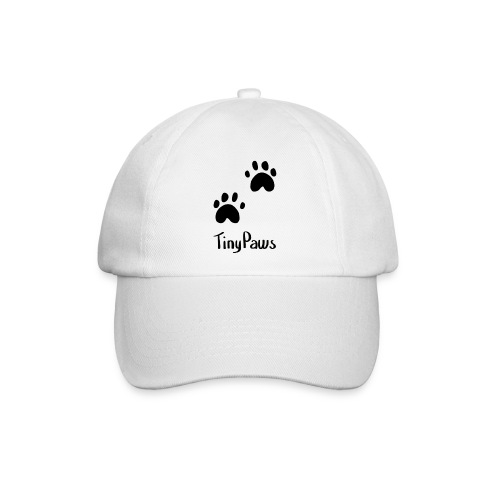 Tiny Paws Logo - Baseball Cap