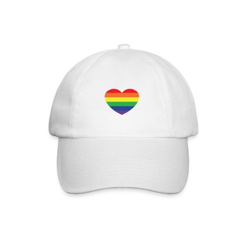 Rainbow heart - Baseball Cap