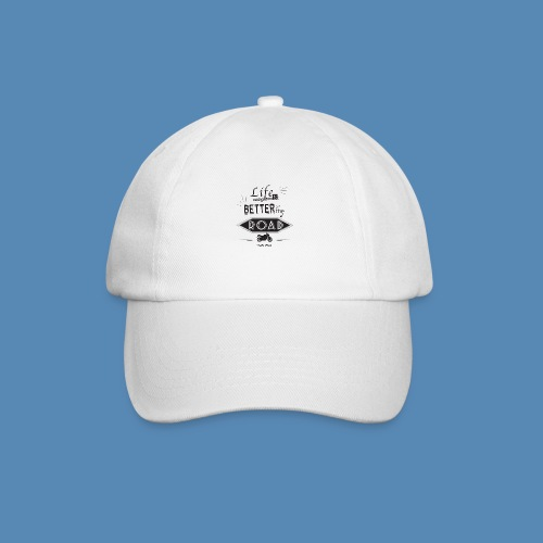 Moto - Life is better on the road - Casquette classique
