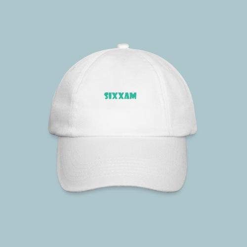 sixxam logo blauw - Baseballcap