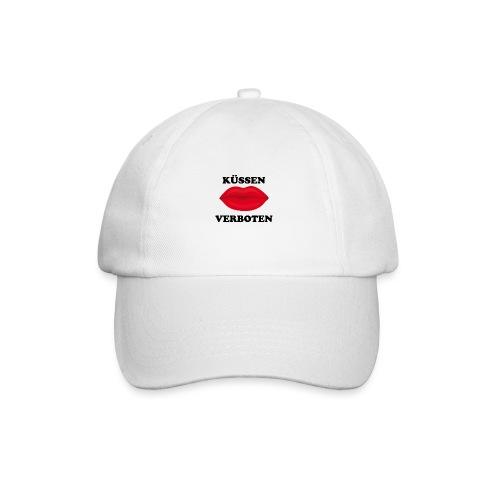 Küssen verboten Kussmund Mundschutz Maske Mund Rot - Baseballkappe
