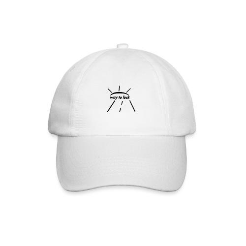 way to luck logo schwarz - Baseballkappe