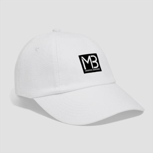 Logo MB Graphic Designer Black - Cappello con visiera