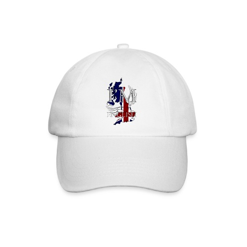 I am English - Cappello con visiera