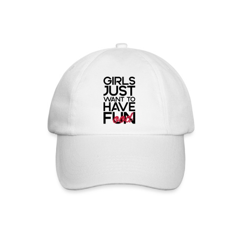 Girls just want to have food - Baseballcap